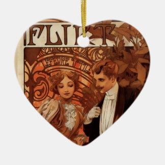Flirt Keramisch Hart Ornament