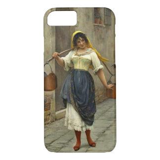 Flirterige Koeienmelkster 1890 iPhone 7 Hoesje