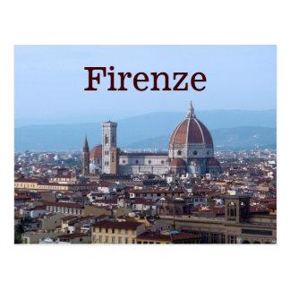 Florence Florence Italië Briefkaart