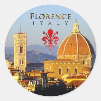 Florence - Santa Maria del Fiore Ronde Stickers