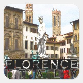 Florence Vierkante Sticker