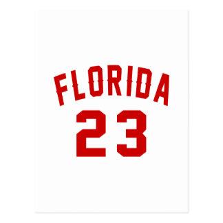 Florida 23 Design van de Verjaardag Briefkaart
