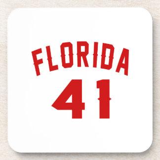 Florida 41 Design van de Verjaardag Bier Onderzetter