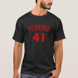 Florida 41 Design van de Verjaardag T Shirt