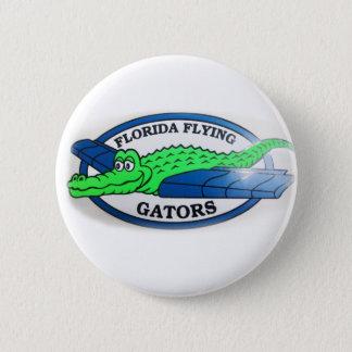 Florida dat Gators vliegt Ronde Button 5,7 Cm