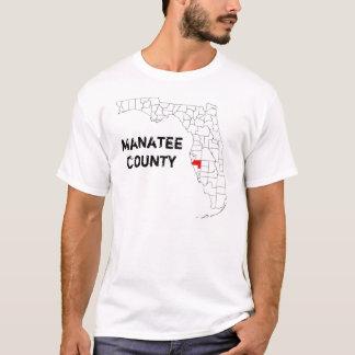 Florida: De Provincie van Manatee T Shirt
