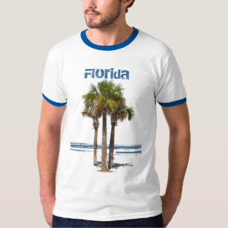 Florida, Palmen door Water T Shirt