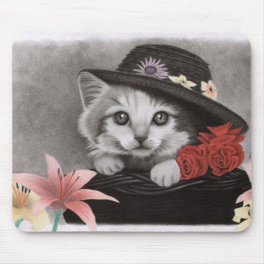 Flower kitty muismatten
