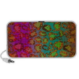 Fluorescente Dierlijke Druk iPod Speaker