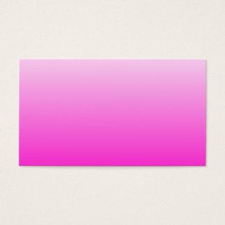 Fluorescente Roze Gradiënt Visitekaartjes