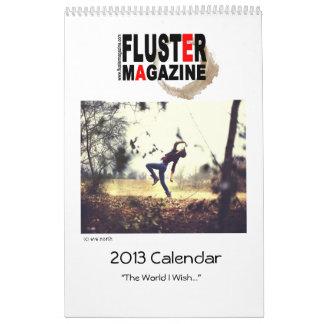 Fluster Tijdschrift 2013 Kalender