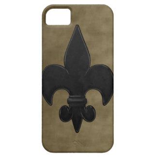 Fluweel Saints Fleur DE Lis Barely There iPhone 5 Hoesje
