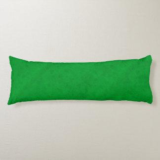 Fluweel van de Kleur van het neon kijkt het Groene Lichaamskussen