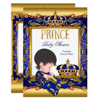 Folie van het Baby shower van de prins de Blauwe Kaart