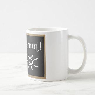 Fonetische Goedemorgen Koffiemok