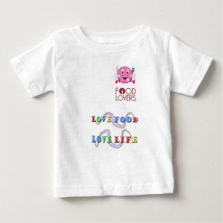foodie baby t shirts