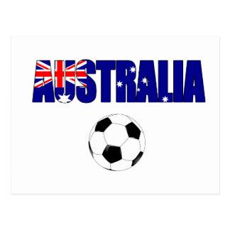 Football 5044 van Australië Briefkaart