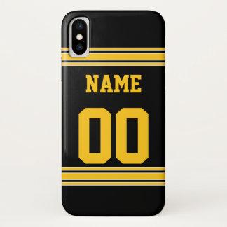 Football Jersey met Gebied om aan te passen iPhone X Hoesje