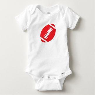 Football van het BABY van het FOOTBALL het Witte | Romper