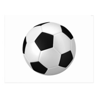 football voetbal briefkaart