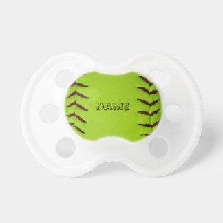 Fopspeen met softball