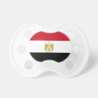 Fopspeen met vlag van Egypte