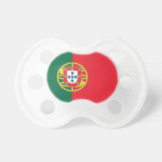 Fopspeen met vlag van Portugal