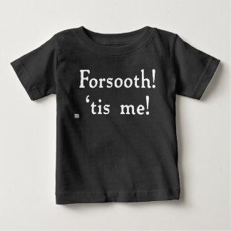 Forsooth! (Het donkere) T-shirt van het baby