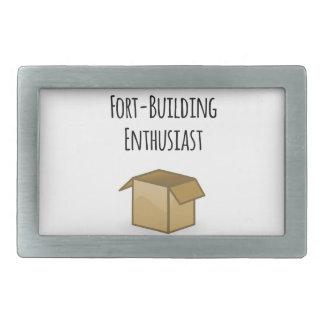 Fort-bouwende Enthousiast Gesp