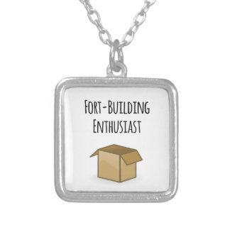 Fort-bouwende Enthousiast Zilver Vergulden Ketting