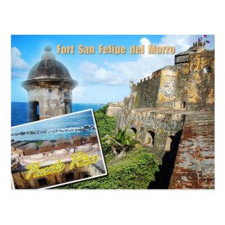 Fort San Felipe del Morro, Puerto Rico Briefkaart