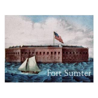 Fort Sumter Briefkaart