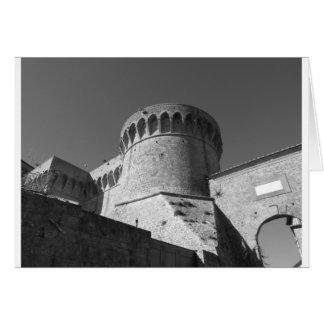 Fortezza Medicea van Volterra. Toscanië, Italië Kaart