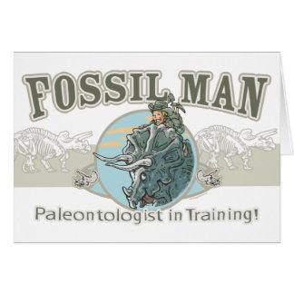Fossiel Man door Mudge Studios Briefkaarten 0