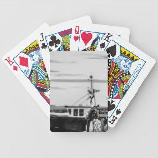 foto boot van visserij bicycle speelkaarten