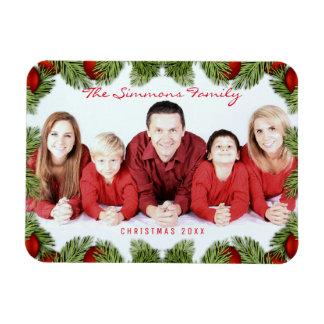 Foto en de Naam van de Familie van Kerstmis van de Magneet