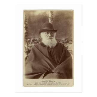 Foto van Charles Darwin, 29 November 1881 Briefkaart