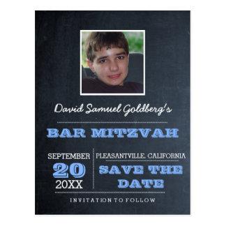 Foto van de Bar mitswa van het bord bewaart de Briefkaart