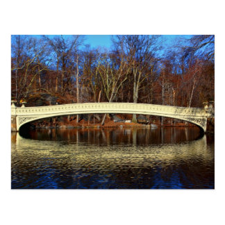 Foto van de Brug van de Boog in Central Park, New Briefkaart