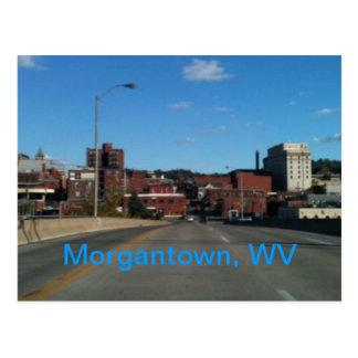 Foto van de horizonbriefkaarten van Morgantown WV Briefkaart