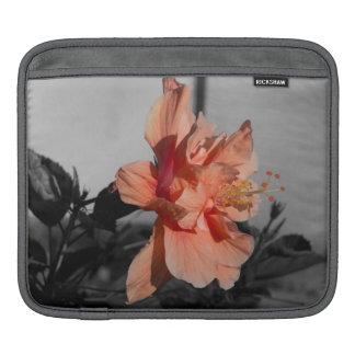 Foto van de Kleur van de Bloem van de Hibiscus van iPad Beschermhoes