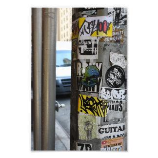 Foto van de Kunst van de Straat Graffiti van de