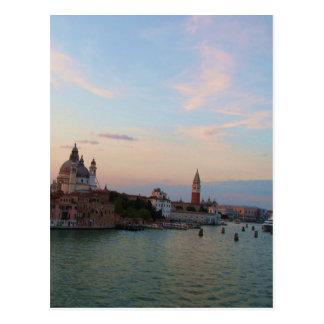 Foto van de Romantische Lagune van Venetië Briefkaart