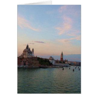 Foto van de Romantische Lagune van Venetië Kaart