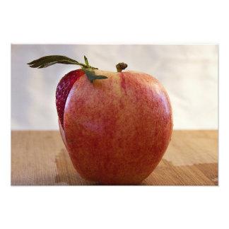 Foto van het Fruit van de Aardbei van Apple de Sap