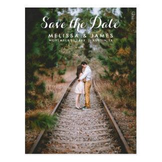 Foto van het Huwelijk van het land bewaart de Briefkaart
