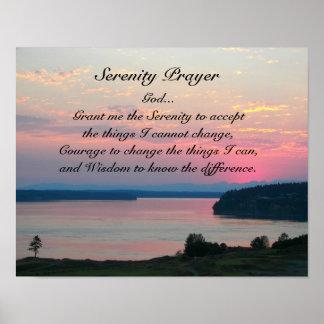 Foto van het Zeegezicht van het Gebed van de Poster