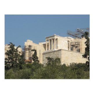 Foto van Oude Griekse Parthenon van veraflegen Briefkaart