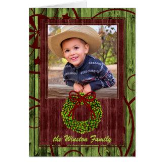 Foto van Themed van Kerstmis van de westerne Briefkaarten 0