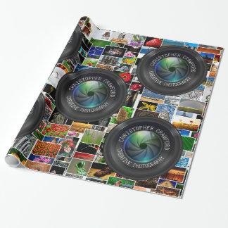 Fotograaf en Lens de van de Bedrijfs fotografie Inpakpapier